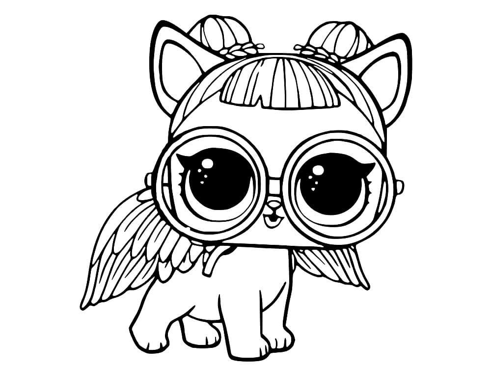 Раскраски ЛОЛ питомцы для девочек. Распечатать LOL Pets ...